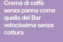 ricette con caffè