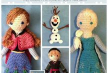 frozen crochet