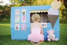 kids - pretend play / by Lisa Piccioli