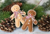 Home decoration / Cute home decorations and ornaments, Christmas decoration