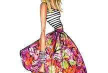 Fashion drawings / Art fashion