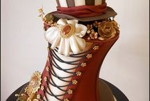 steam punk cakes.