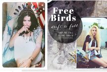 Freebirds, Ride On / Lookbook for some of our latest arrivals, June 2015 / by Flying Tomato