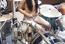 Drum girls