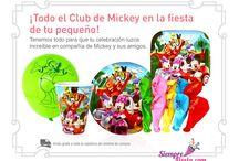 Fiesta de Club de Mickey / Ideas y artículos para una fiesta de cumpleaños con los personajes del Club de Mickey