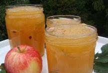 confitures et fruits au sirop