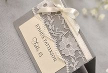 Wedding Details / Reception Name Cards