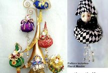 CHRISTMAS ART & PROJECTS / Great ideas for the holidays,Ornaments, Art Dolls or if you would rather make your own, wonderful Tutorials, Patterns and more / by Michelle Munzone