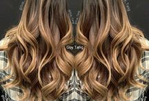 Cheveux ambré