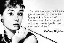 Audrey iconic audrey