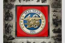 """Military Insignia 3D: U.S. Navy Seals / Introducing project """"Military Insignia"""", featuring top quality military heraldry designs. Here you will find custom framed prints featuring insignia of the United State Navy SEALs.  The United States Navy SEa, Air and Land (SEAL) Teams, commonly known as Navy SEALs, are the U.S. Navy's principal special operations force and is a part of the Naval Special Warfare Command (NSWC) as well as the maritime component of the United States Special Operations Command (USSOCOM)."""