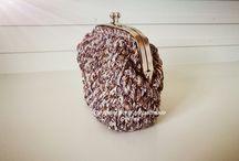 Handmade Crochet Wallet / Handmade Crochet Wallet https://www.facebook.com/TheEntireWorldofHandmadeCrochet/