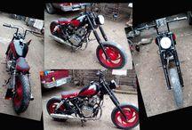 Custom Bobber / Modificación de motocicleta al estilo Bobber