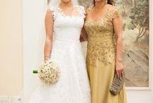 roupa e cabelo mae de noiva