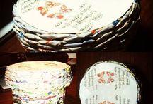 Pletené košíky a jiná tvorba
