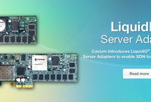 LiquidIO™ Family of 10 Gigabit Server Adapters to enable SDN for Cloud and Datacenters / Provides a proven, high performance and flexible platform for deploying feature rich Software Defined Networks (SDN) with support for 3rd Party applications in addition to Open vSwitch, OpenFlow, & VXLAN