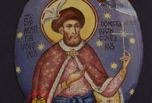 Russian Enamel Orthodox Icons