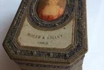 Vintage Perfume Box Paris -France 1922