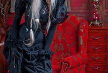Gothic corsets/ masks