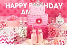 Pink! Party Ideas / A birthday party theme with enough #pink power for any princess! #birthdayexpress