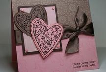 Cards-love/valentines / by Jolene Cowden