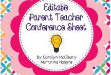 Parent teacher conferences / by Florentina Crawford