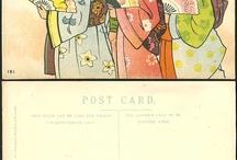 Vintage Postcards  / by Cynthia@ Beach Coast Style.com
