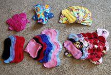 cloth menstrual pads, etc. / by Little Manda