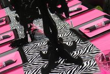 pink and.zebra party ideas