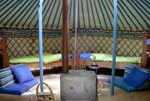 Mongoolse yurts & gers / Bijzonder overnachten in een yurt of ger. Uniek en speciaal.