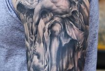 Tatuaje de ángeles