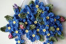 crocher flower.