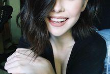 Winged eyeliner ♥