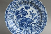 Chinese blue and white porcelain / The blue and white porcelain produced by the Chinese potters was admired wherever it was seen.  Here are a few examples of the diversity of styles of antique Chinese 'blue and white'