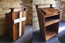 Pallet Furniture / Hand crafted pallet furniture and fencing, we can customize to your specific needs or designs. Contact us on info@palletfurn.co.za
