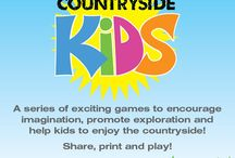 Countryside Kids / A series of exciting games to encourage imagination, promote exploration and help kids to enjoy the countryside! Share, print and play!