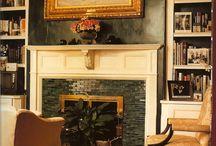 Fireplaces / by Sue Czymbor