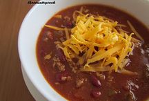 Crock Pot Chili Recipes / by Ginger Jones