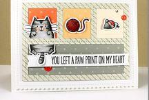 My favorite things cards