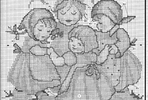 children / Baby's cross stitch