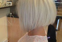 Platinum blonde dos