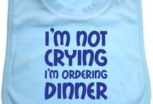 Baby Bibs / Here's a selection of our bibs which are only £3.99 each at www.cheekybabytees.co.uk