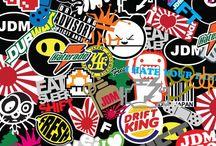Stickers decals / Stickers decals etc.