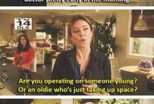 Things people on TV say...