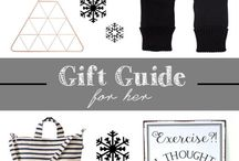 gifts | guides + ideas