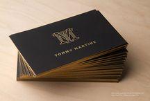 Foil Edged Business Cards