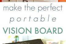 Goal Setting / Manifesting abundance, vision boards, and tips for life goal setting