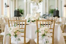 Table Decor / Beautiful table decor for the Blue Meadow Bride