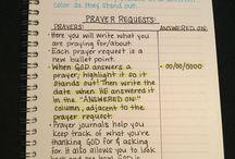 prayer journaling ideas
