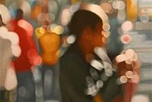 Beautiful bokeh effect paintings